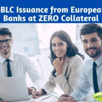 SBLC Issuance from European Banks at ZERO Collateral