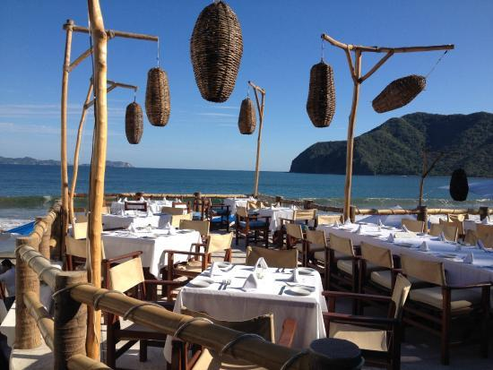 Playa Manzanillo Restaurants